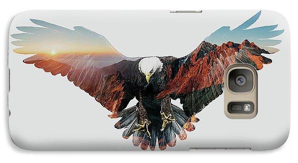 American Eagle Galaxy S7 Case by John Beckley