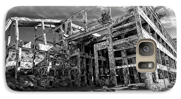 Galaxy Case featuring the photograph American Flat Mill Virginia City Nevada by Scott McGuire