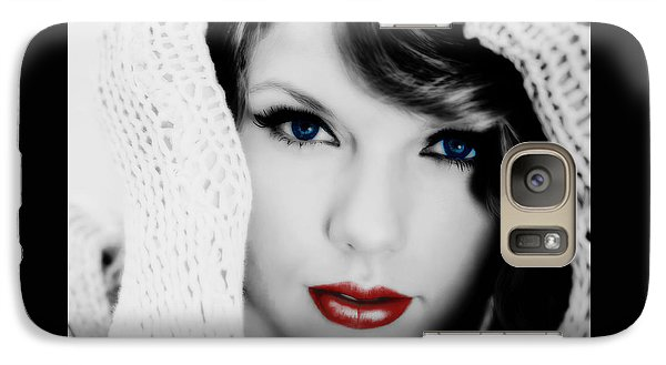 American Girl Taylor Swift Galaxy S7 Case by Brian Reaves