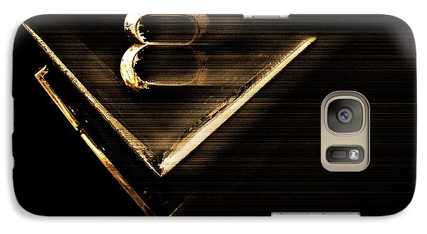 Galaxy Case featuring the photograph American Muscle V8 by Gray  Artus