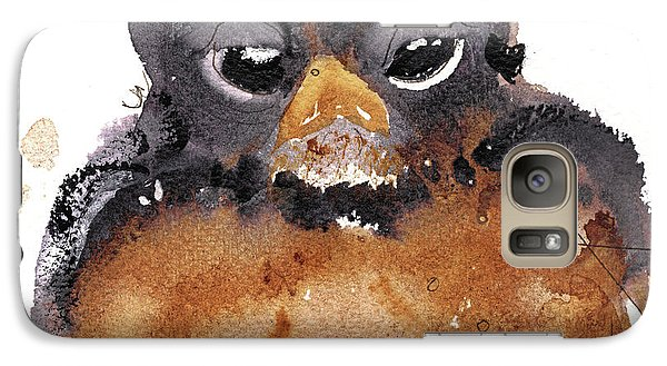 Galaxy Case featuring the painting American Robin by Dawn Derman