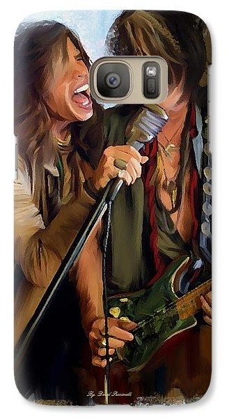American Rock  Steven Tyler And Joe Perry Galaxy S7 Case