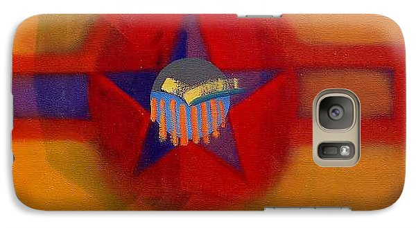 Galaxy Case featuring the painting American Sub Decal by Charles Stuart