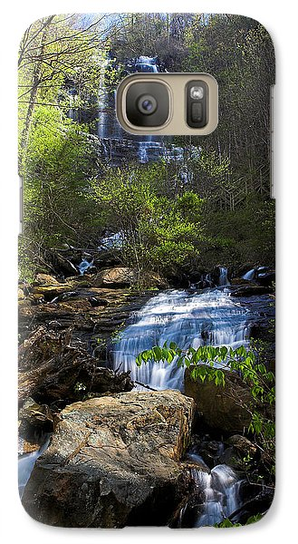 Galaxy Case featuring the photograph Amicalola Falls by Dan Wells