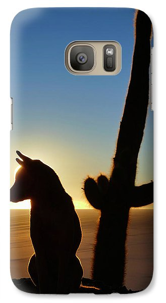 Galaxy Case featuring the photograph Amigo by Skip Hunt