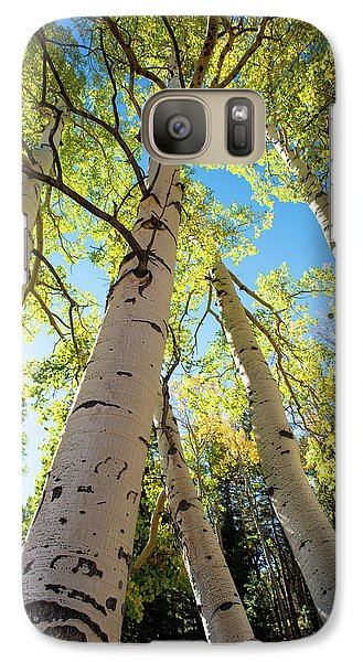Galaxy Case featuring the photograph Aspen Dance by Dana Sohr