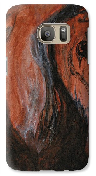 Galaxy Case featuring the painting Amongst The Shades by Christophe Ennis