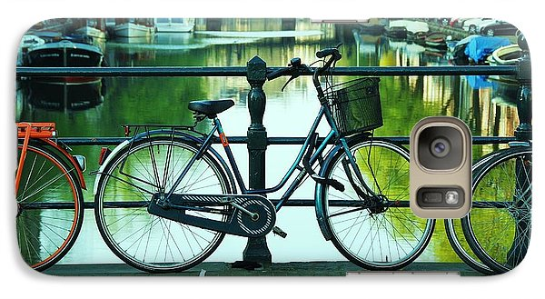 Galaxy Case featuring the photograph Amsterdam Scene by Allen Beatty
