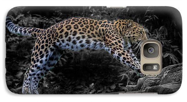 Amur Leopard On The Hunt Galaxy S7 Case by Martin Newman