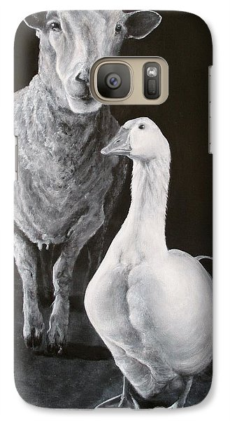 Amy And Gracie Galaxy S7 Case