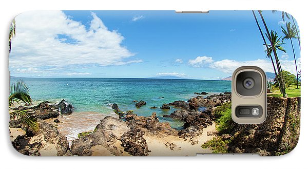 Galaxy Case featuring the photograph Amzing Beach In Hawaii Islands by Micah May