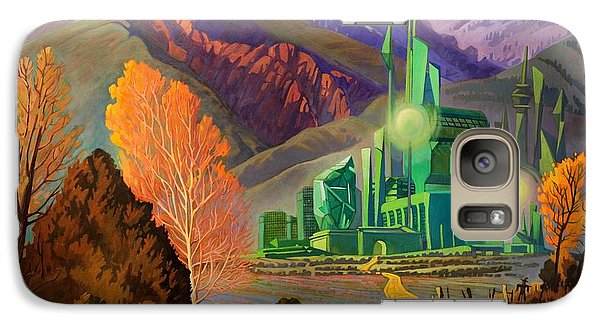 Galaxy Case featuring the painting Oz, An American Fairy Tale by Art West