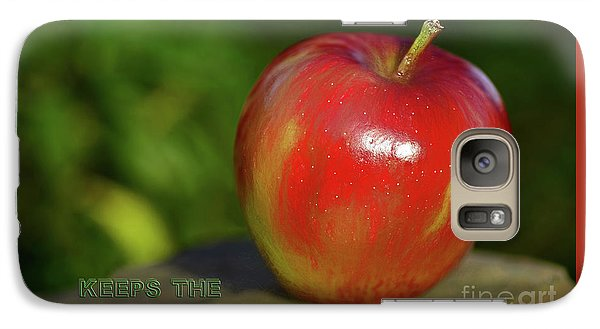 An Apple A Day By Kaye Menner Galaxy S7 Case by Kaye Menner