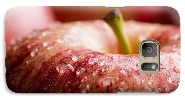 Galaxy Case featuring the photograph An Apple A Day... by Yvette Van Teeffelen