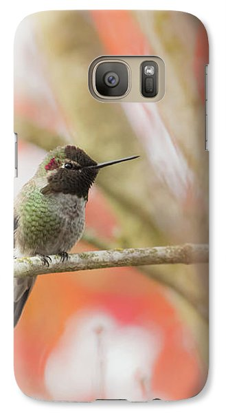 Galaxy Case featuring the photograph An Autumn Afternoon by Angie Vogel