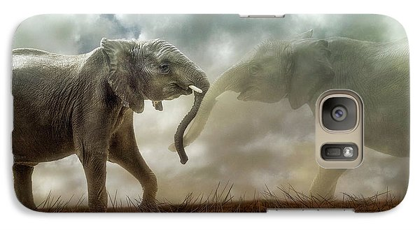 An Elephant Never Forgets Galaxy S7 Case