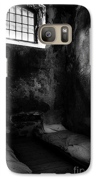 Galaxy Case featuring the photograph An Empty Cell In Old Cork City Gaol by RicardMN Photography