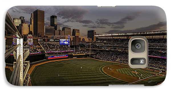 Galaxy Case featuring the photograph An Evening At Target Field by Tom Gort