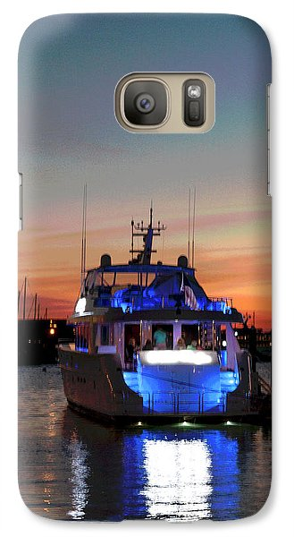Galaxy Case featuring the photograph An Evening In Newport Rhode Island IIi by Suzanne Gaff