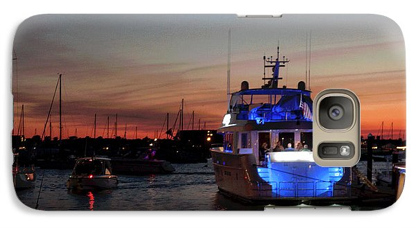 Galaxy Case featuring the photograph An Evening In Newport Rhode Island Iv by Suzanne Gaff