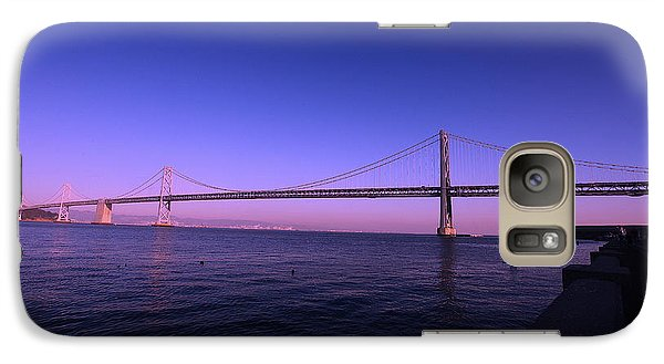Galaxy Case featuring the photograph An Evening In San Francisco  by Linda Edgecomb