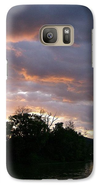Galaxy Case featuring the photograph An Ohio River Valley Sunrise by Skyler Tipton
