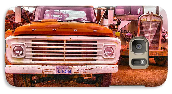 Galaxy Case featuring the photograph An Old Ford And Kenworth by Jeff Swan