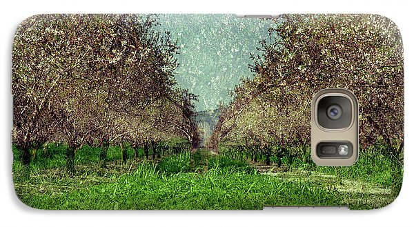 An Orchard In Blossom In The Eila Valley Galaxy S7 Case