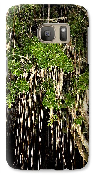 Galaxy Case featuring the photograph An Unusual Tree by Rosalie Scanlon