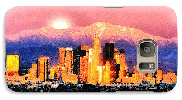Galaxy Case featuring the digital art Anchorage - Bright-named by Elaine Ossipov