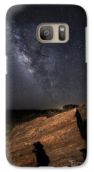 Galaxy Case featuring the photograph Ancient History by Melany Sarafis