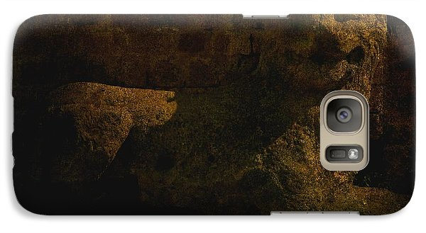 Galaxy Case featuring the photograph Ancient Lion In Cyprus by Jim Vance