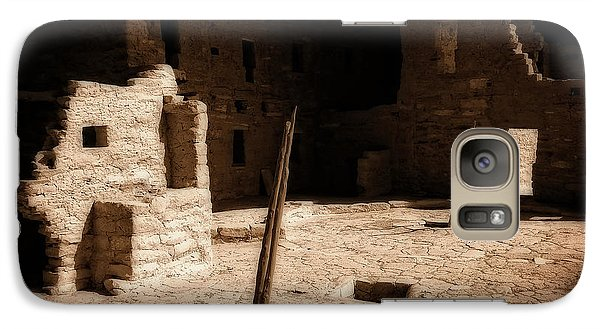 Galaxy Case featuring the photograph Ancient Sanctuary by Kurt Van Wagner