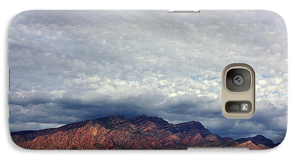 Galaxy Case featuring the photograph Ancient Sentinels by Marion Cullen