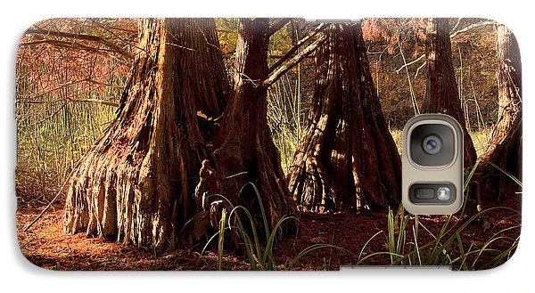Galaxy Case featuring the photograph Ancient Tree At Lake Murray by Tamyra Ayles