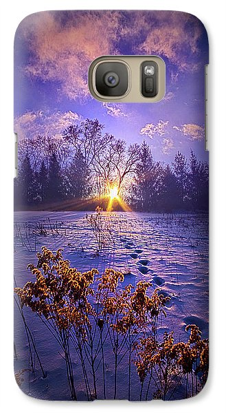 Galaxy Case featuring the photograph And Back Again by Phil Koch