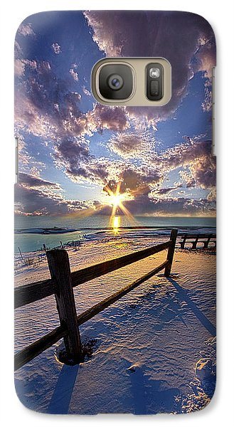 Galaxy Case featuring the photograph And I Will Give You Rest. by Phil Koch