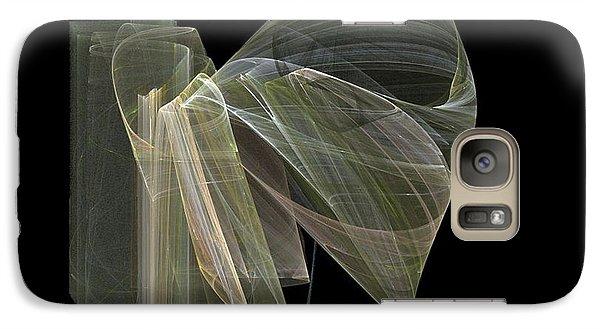 Galaxy Case featuring the digital art And The Angel Spoke..... by Jackie Mueller-Jones