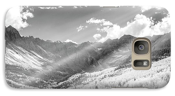 Galaxy Case featuring the photograph And You Feel The Scene by Jon Glaser