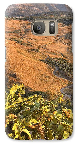 Galaxy Case featuring the photograph Andalucian Golden Valley by Ian Middleton
