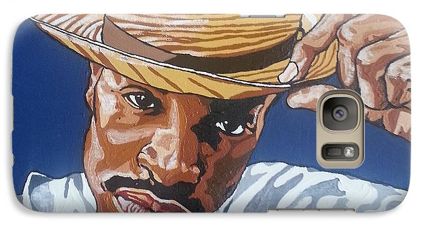Galaxy Case featuring the painting Andre Benjamin by Rachel Natalie Rawlins