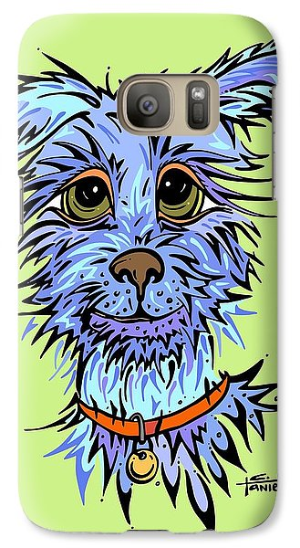 Galaxy Case featuring the drawing Andre by Tanielle Childers