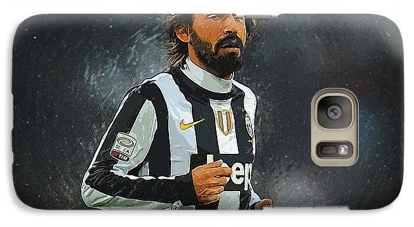 Andrea Pirlo Galaxy S7 Case by Semih Yurdabak