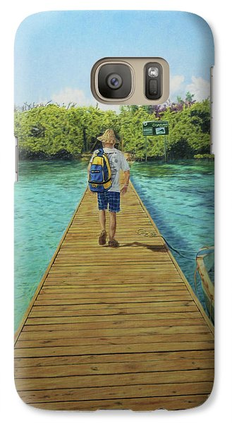 Galaxy Case featuring the painting Andrew by Jennifer Watson