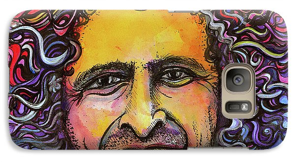 Galaxy Case featuring the painting Andy Frasco by David Sockrider