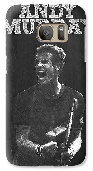 Andy Murray Galaxy S7 Case by Semih Yurdabak