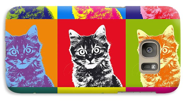 Andy Warhol Cat Galaxy S7 Case