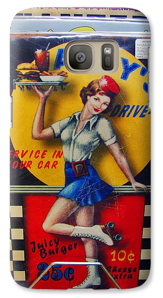 Galaxy Case featuring the photograph Andy's Drive In by Joanne Coyle