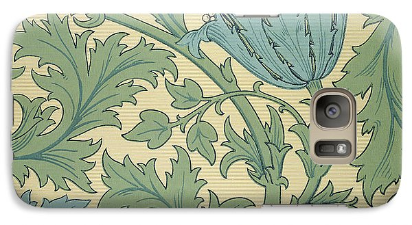 Anemone Design Galaxy Case by William Morris