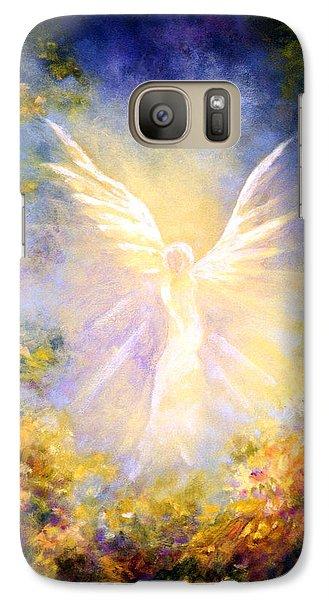 Fairy Galaxy S7 Case - Angel Descending by Marina Petro